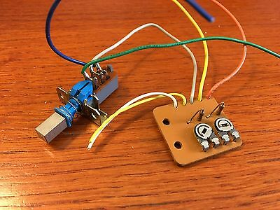 Onkyo CP-1010A Turntable Parts - Speed Selector Switch & Circuit Board