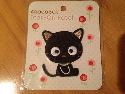 SANRIO CHOCOCAT EMBROIDERED IRON ON PATCH- MINT IN PACKAGE! Hello Kitty Friend