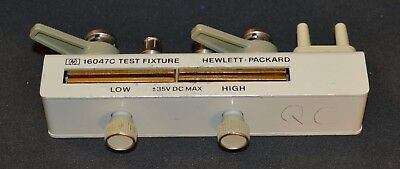 HP Agilent 16047C Axial/Radial Test Fixture for LCR Meters, Great Shape