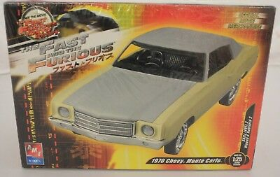 AMT ERTL Fast and the Furious 1970 Chevy Monte Carlo Model Kit 1/25 NIB