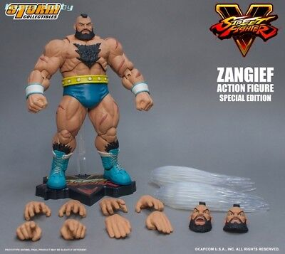 Storm Collectibles 1/12 Street Fighter V: Zangief (Special Edition)