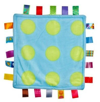 Taggies Style Lovey Blanket, POLKA DOT, NEW