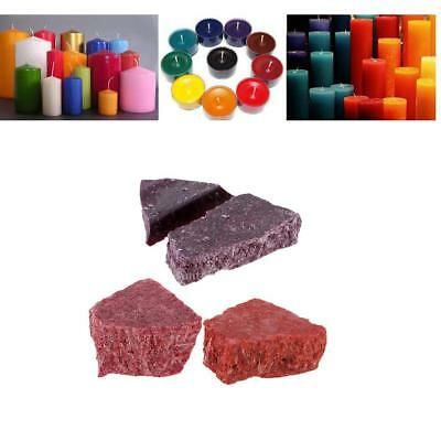 Purple Red Pink Soy Wax Candle Oil Colouring Dye Chips Candle Making Supply
