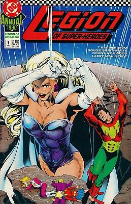 Legion of Super-Heroes Annual (DC, 1990) #1 VF/NM