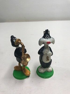 1979 WILTON CAKETOPS Warner Bros. Sylvester And Daffy Duck N2