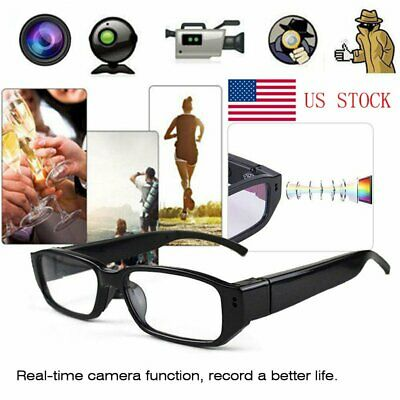 Mini HD Spy Camera Glasses 1080P Hidden Sunglasses Eyewear Surveillance DVR NVRs