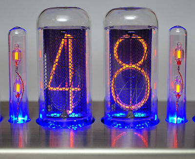 2 CT-IN-18 Nixie Doppelpunkt Röhren Tubes Clock Uhr tube clock colon Bausatz kit