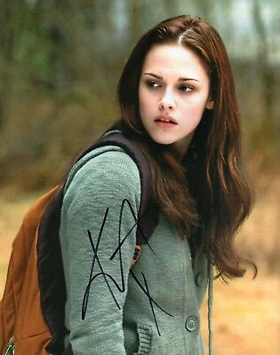 Autographed Kristen Stewart 8 x 10 Photo Signed in black sharpie