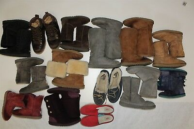 UGG Lot Wholesale Used Boots Rehab Resale Collection Various Sizes cNp