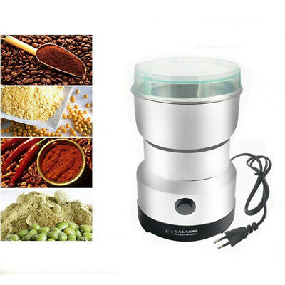 100W Electric Coffee Bean Spice Herbs Mill Blade Grinder Blender Kitchen Tool Gi