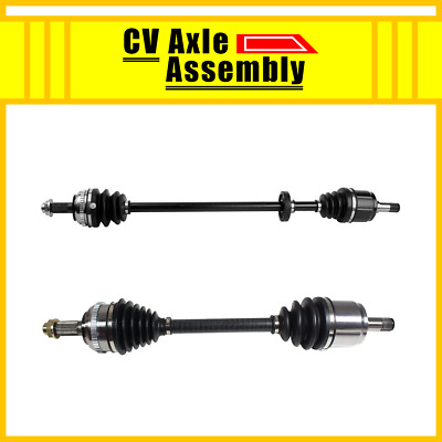 FRONT LEFT /& RIGHT CV DRIVE AXLE SHAFT ASSEMBLY PAIR For HONDA ACCORD 1986-1989