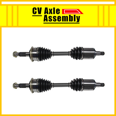 Front CV Axle Shaft Assembly Pair LH /& RH Set of 2 for Toyota Tacoma 4Runner
