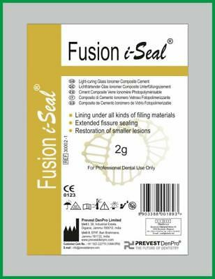 Dental Permanent Light Curing Glass lonomer Composite Cement FUSION I-SEAL Trial
