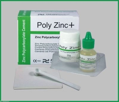 Permanant Glass Ionomer Dental Cement Crown Bridge Luting Adhesive Cement Zinc+