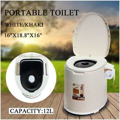 Portable Indoor/Outdoor Camping Toilet Caravan Travel Camping Potty Commode AU
