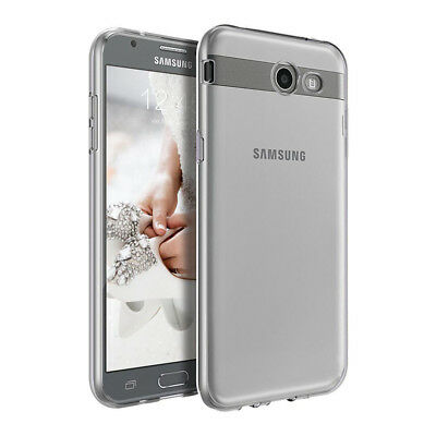 For Samsung Galaxy J7 v 2017/J7 Prime/J7 Sky Pro Soft Shockproof Slim Clear Case