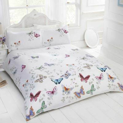 Mariposa Butterfly Duvet Cover Set Girls Adults - Single, Double & King Size