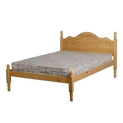 4FT 6 inches Double Bed Antique Pine Bedroom Furniture