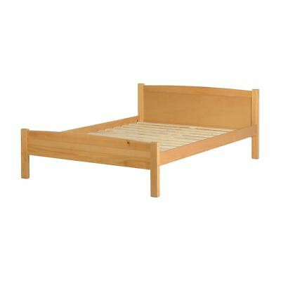 Amber 4FT 6 inches Double Bed in Antique Pine