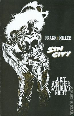 Sin City Just Another Saturday Night #1 1998 FN- 5.5 Stock Image Low Grade