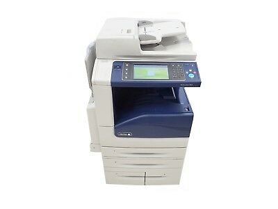 Xerox WorkCentre 7845 Color Copier Printer Scanner MFP 11x17 Only 76K