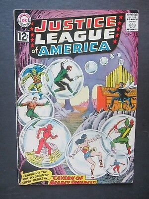 JUSTICE LEAGUE OF AMERICA #16 vg+ early 12-c DC Silver Age 1 book lot