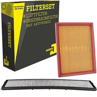 Filterset Luftfilter & Innenraumfilter BMW 3er Cabrio Coupe Touring E46