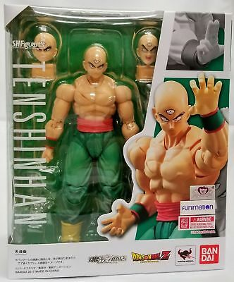 Bandai Dragon Ball Z SH S.H. Figuarts Tien Shinhan Action Figure Authentic USA