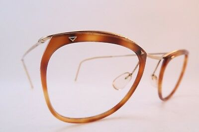 Vintage 50s eyeglasses frames gold filled acetate SAM made in France