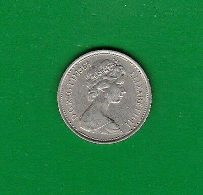 Great Britain 5 New Pence, 1968