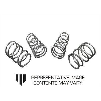 Whiteline WSK-SUB007 Front and Rear Coil Springs lowered For Subaru Impreza