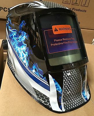 FMTD Digital Solar Auto Darkening Shade 5 to 13 Welding Helmet w/4 sensors