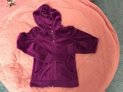 traumhaftes Juicy Couture Nicky Hoodie in Gr. 12 Jahre NP82$ in Lila, TOP