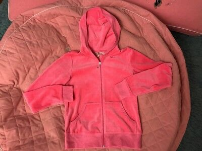 traumhaftes Juicy Couture Nicky Hoodie in Gr. 12Jahre NP82$ in Lachsfarben, TOP