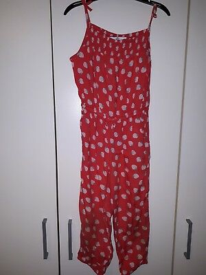 Girls jumpsuit 3-4years M&S