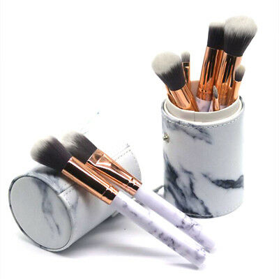 10Pcs Pro Makeup Brushes Powder Foundation Eyeshadow Eyeliner Lip Brush Tool Set