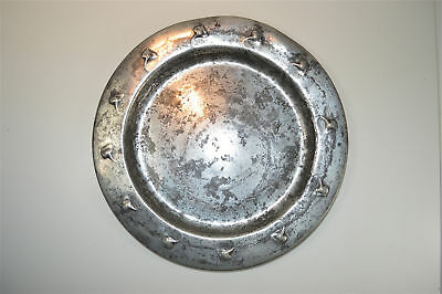 Original antique Arts and Crafts Tudric pewter plate Liberty & Co.