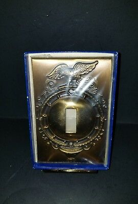 Brass Smith House Federal Mirror Eagle Light Switch Cover