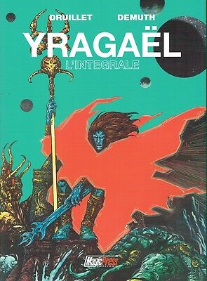 YRAGAEL di Druillet  e Demuth  l'integrale ed.Magic Press sconto 40%