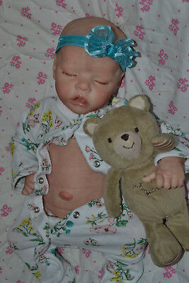"Custom Order Reborn Twin A 17"" doll Bonnie Brown~ Reborns by Jill"