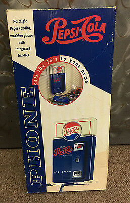 BRAND NEW Vintage Pepsi-Cola Vending Machine Phone w/ Integrated Handset