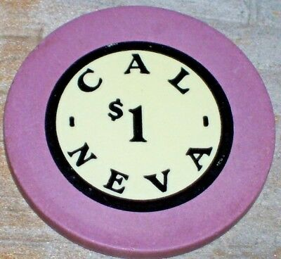 $1 1927 1St Edition Gaming Chip From The Cal-Neva Lodge Crystal Bay, Nv R6