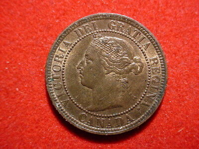 Canada - 1887, Large Cent.  Lots of luster - Nice High Grade