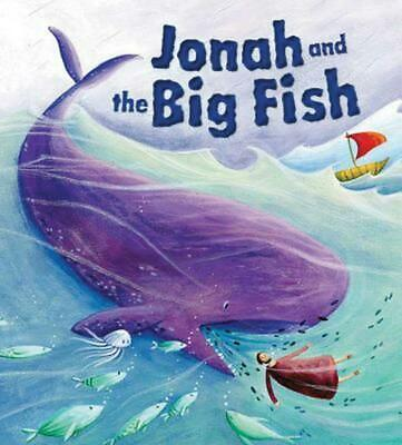 Jonah and the Big Fish by Cathy Jones (English) Hardcover Book Free Shipping!