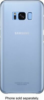 Genuine Samsung - S-View Flip Cover for Samsung Galaxy S8 - Blue - New Other