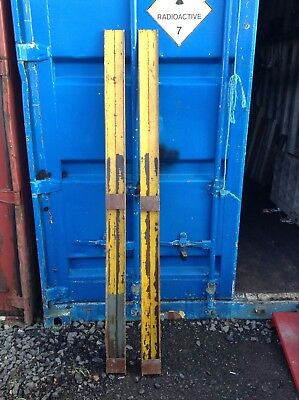 forklift fork extensions 1.8m long, fits 85mm wide forks