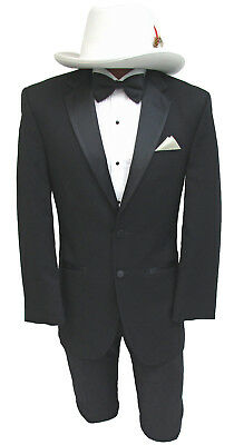 Perfect Prom or Wedding Tuxedo! High Quality Jean Yves 2 Button Tux with Pants