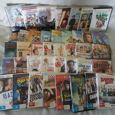 Comedy Movie Pack 40 x DVDs Cannonball Run, Annie Hall, The Associate, Kingpin +