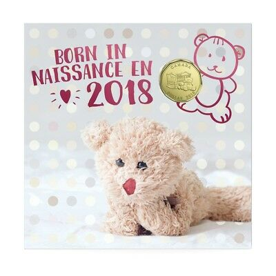 BABY BORN GIFT SET - 2018 Uncirculated Coin Set with Limited Edition Loonie