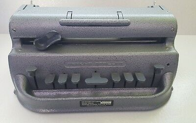 Perkins Brailler with Soft Cover